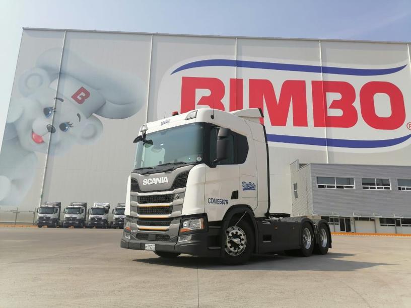 Scania y Bimbo